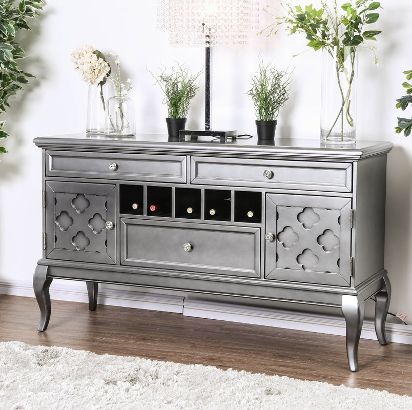 Modern Finish with Traditional Design Buffet