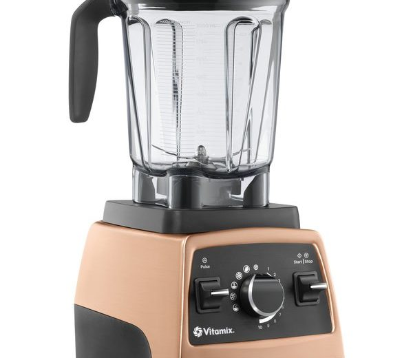 Copper Colored Vitamix Blender