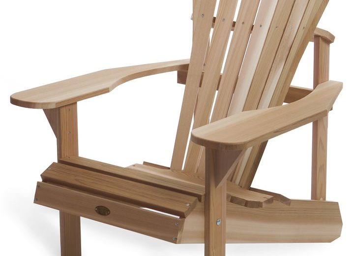 Western Red Cedar Adirondack Chair