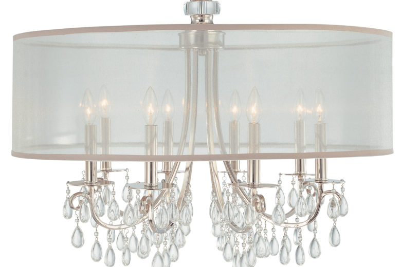 Round Chandelier with Shade
