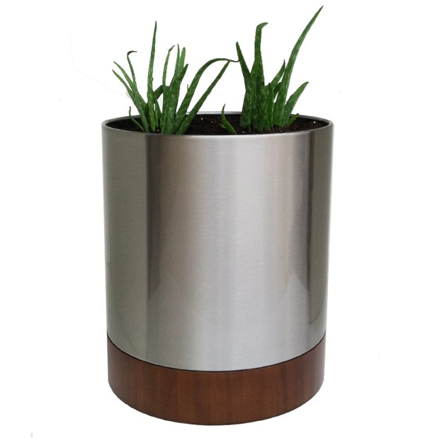 Stainless Steel Outdoor Planter Pot
