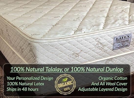 EZ Sleep Organic Latex Mattress