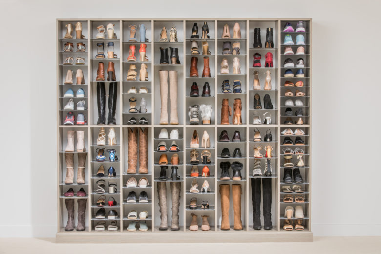 Custom Shoe and Boot Closet Organizer