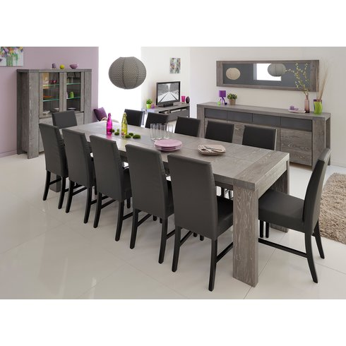 Extendable Dining Table Sits 12