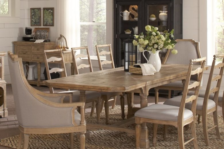 LaSalle Rectangular Extendable Dining Table