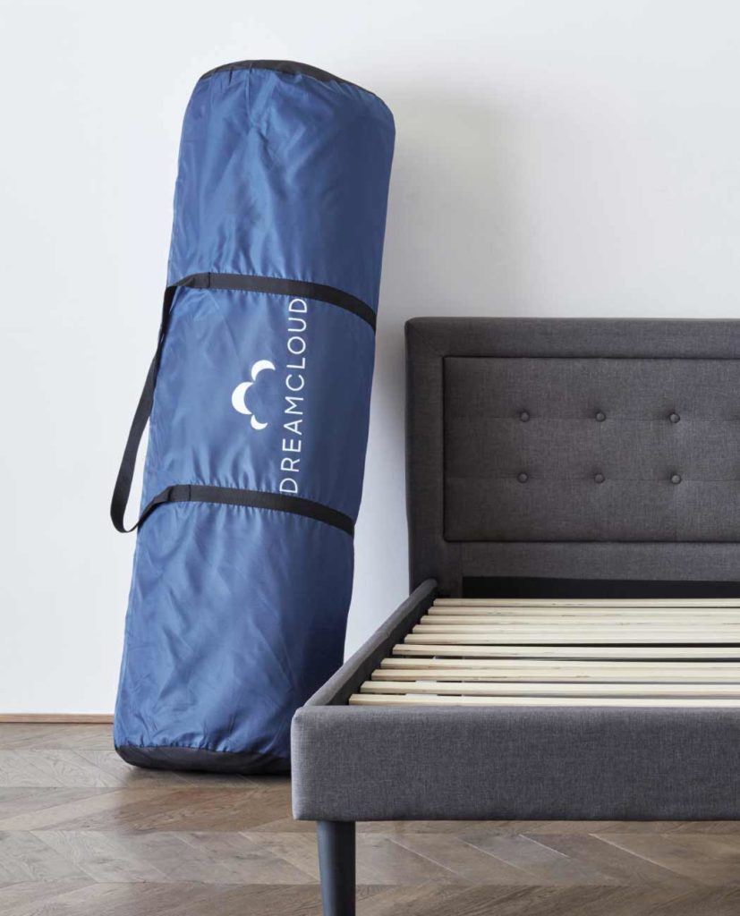 Dreamcloud Mattress in Protective Storage Bag
