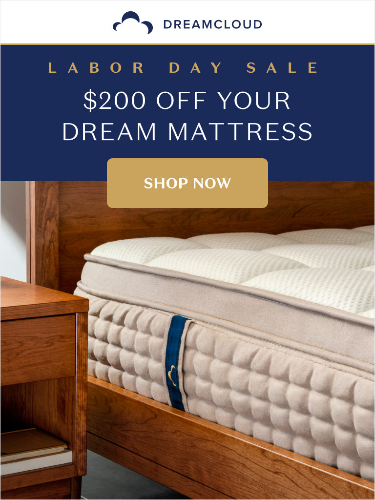 Dreamcloud Mattress Labor Day Sale