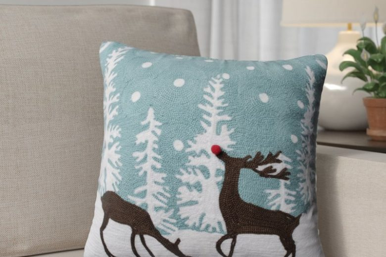Rudolph+Frost+Throw+Pillow