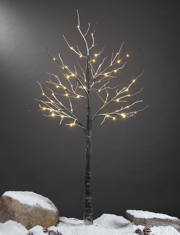 Cedar Artificial Christmas Tree With 48 LED White Lights by The Holiday Aisle