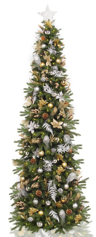 The Holiday Aisle Artificial Christmas Tree with 270 White Lights Full Close Up