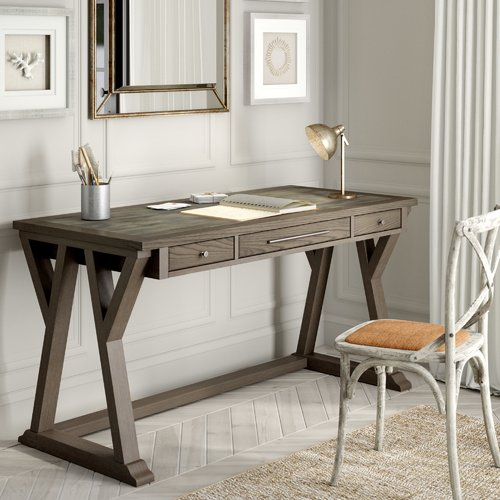 Gracie Oaks Beesley Desk in Traditional Home
