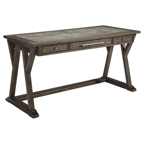 Gracie Oaks Beesley Desk with Inset Top