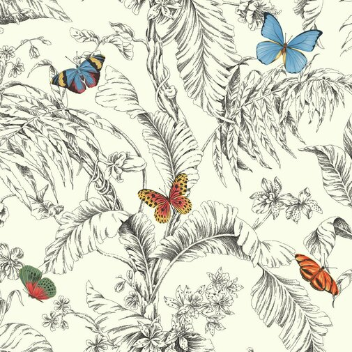 Ashford Toiles Butterfly Papillon Roll by Joss and Main