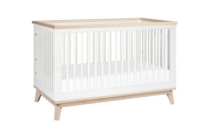 Babyletto Scoot Convertible Crib in White
