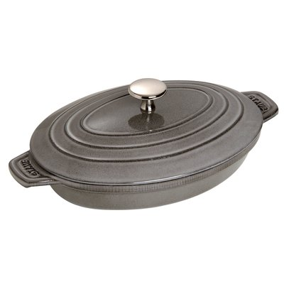 Staub Cast Iron Braiser with Lid is the Perfect Pan for Searing