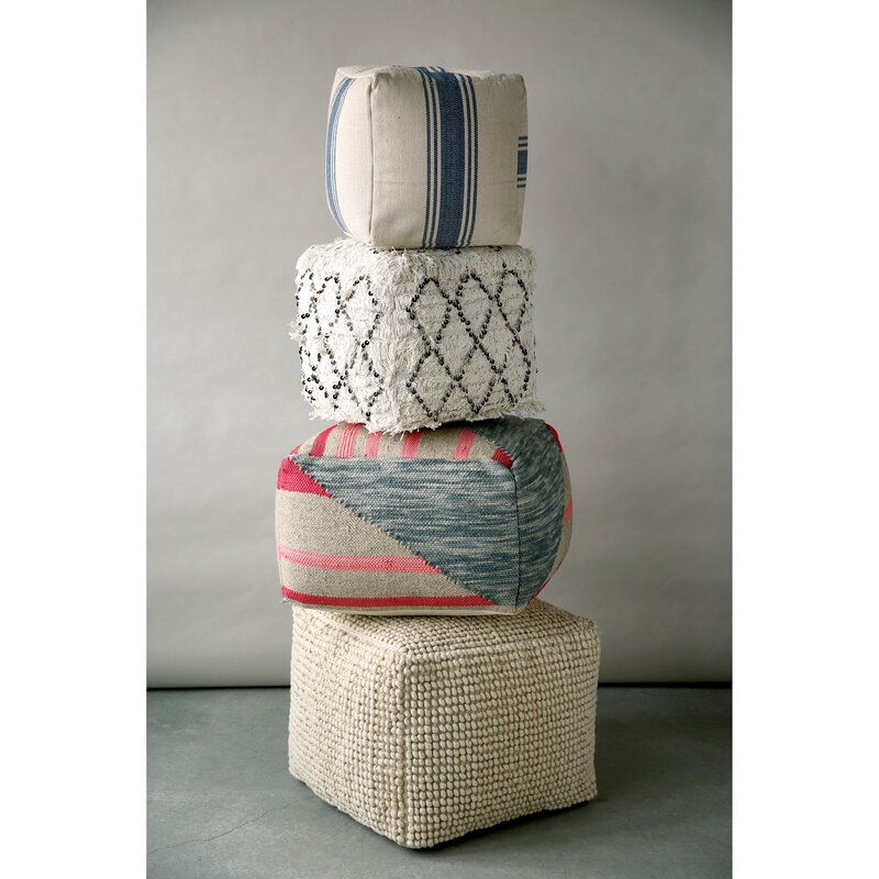 Stacked Poufs