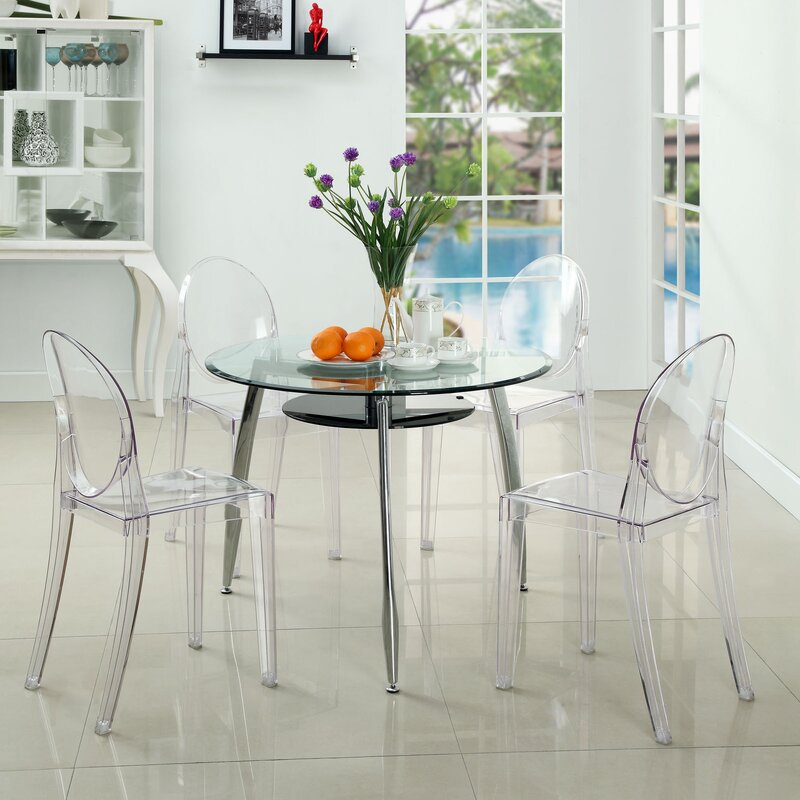 Clear Acrylic Lorne Dining Chairs