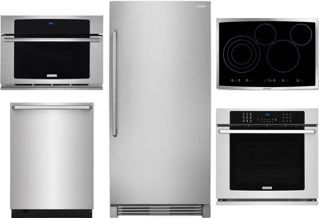 Electrolux Kitchen Appliance Package with 32 Inch Wide All Refrigerator