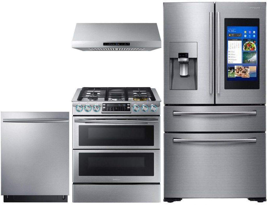 Samsung 4 Piece Smart Appliance Package