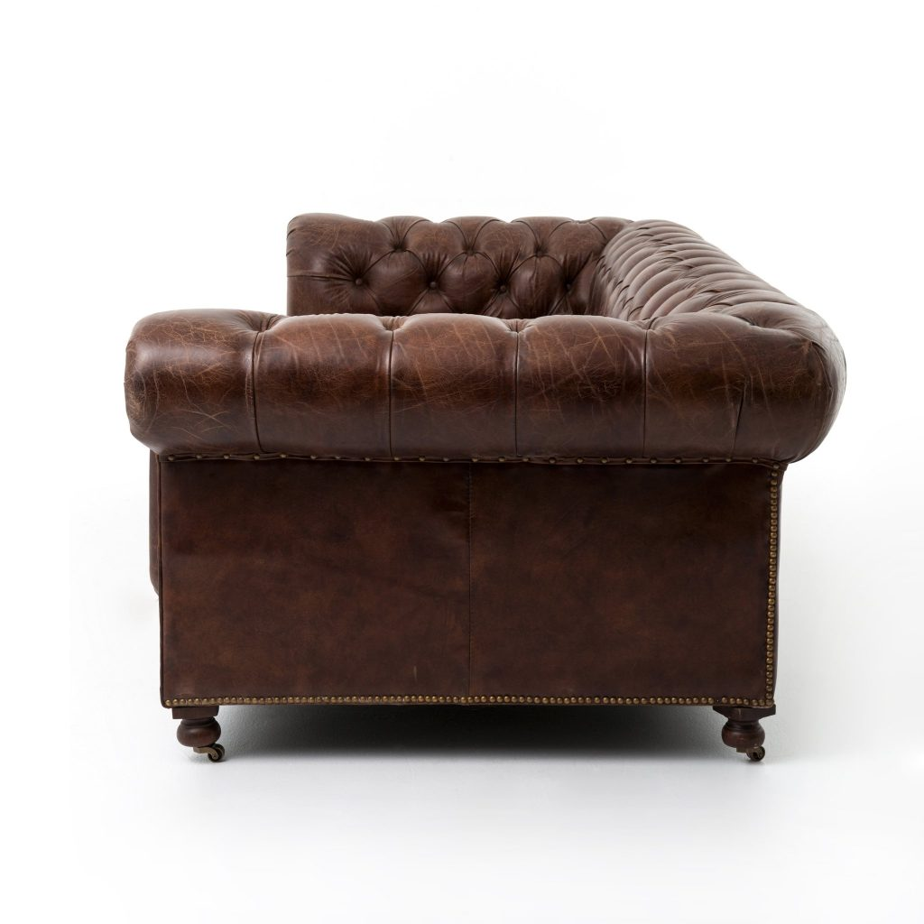 Rolled Arms and Back on Classic Chesterfield