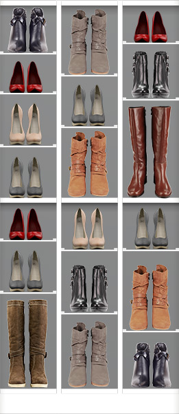 Easy Closets Adjustable Shoe Organizer Shelving for Tall Boots and Shoes