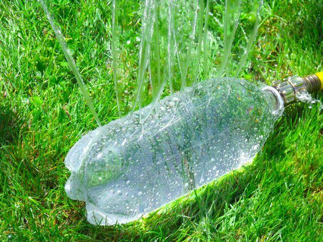 Pop Bottle To Sprinkler D-I-Y Project