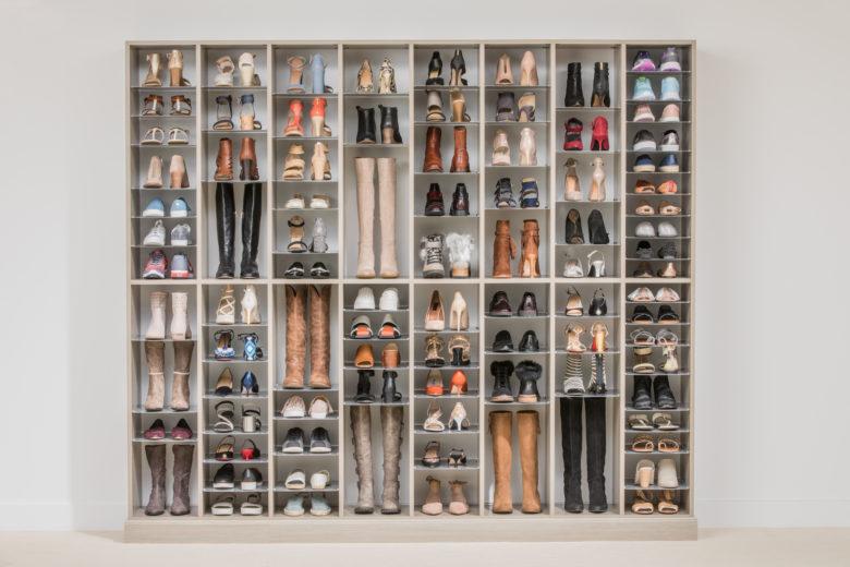 Custom Shoe and Boot Closet Organizer