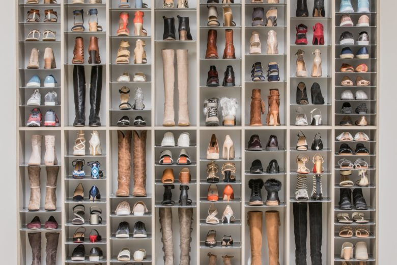 La Grande Muraille de Chaussures
