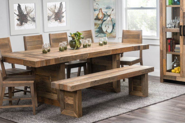 Harvest Table Extendable Dining Table