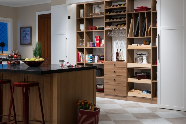 kitchen pantry closet organization