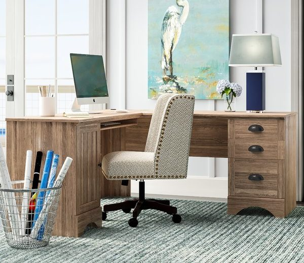 Pinellas Executive L Shaped Corner Desk