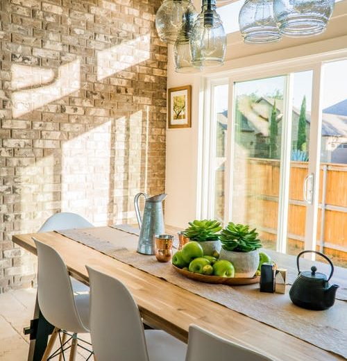Kitchen Table with Eastern Facing Window
