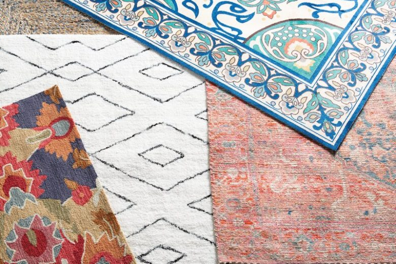 Area Rugs in Various Styles and Colors