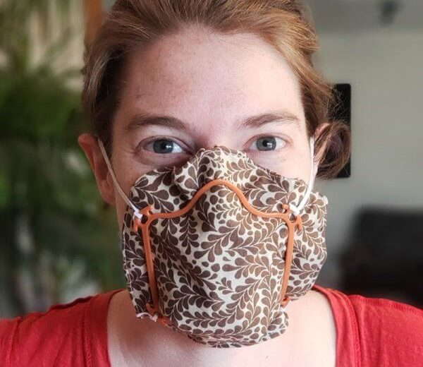 DIY Face Mask Frames by Garden Tower Project